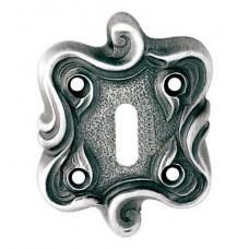 Нижняя розетка с отверстием под межкомнатный ключ LINEA CALI KEY-set 091 TM