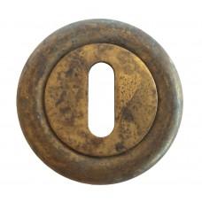 Нижняя розетка с отверстием под межкомнатный ключ LINEA CALI KEY-set 103 AN