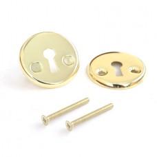 Нижняя розетка с отверстием под межкомнатный ключ Apecs DP-S-06-G