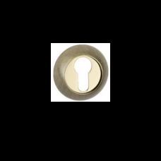 Розетки для замка с отверстием под цилиндр MSM R1 AB-PB