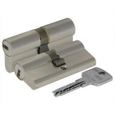 Цилиндровый механизм CISA Astral ключ-ключ хром 45x45