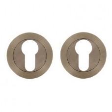 Розетки для замка с отверстием под цилиндр FRASCIO CYL/50 INOXCROME FR