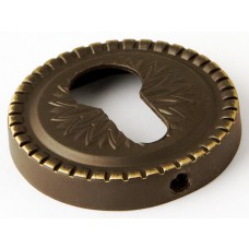 Нижняя розетка с отверстием под цилиндр ARMADILLO CYLINDER ET/CL-BB-17 коричневая бронза
