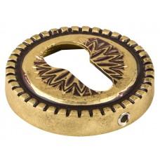 Нижняя розетка с отверстием под цилиндр ARMADILLO CYLINDER ET/CL-FG-10 французское золото
