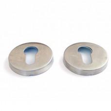 Розетки для замка с отверстием под цилиндр Apecs DP-C-02-INOX