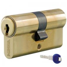 Цилиндровый механизм KABA ExperT ключ-ключ латунь 40x40