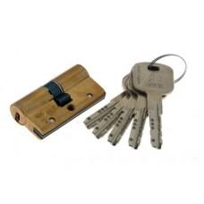 Цилиндровый механизм CISA AP 3 S ключ-ключ латунь 40x40