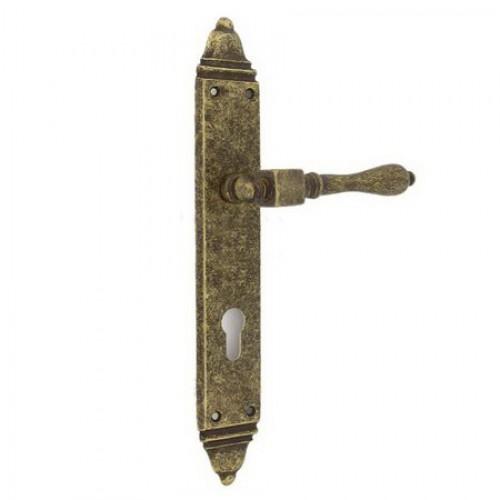 Ручка на планке DORIA 472 CYL AF