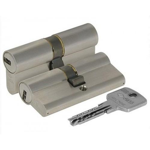 Цилиндровый механизм CISA Astral ключ-ключ хром 35x45
