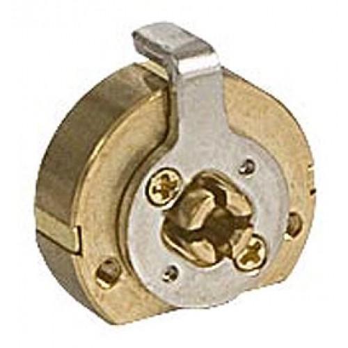 Цилиндровый механизм KALE FB ключ-ключ латунь 3 ключа