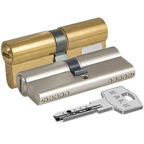 Цилиндровый механизм KALE BN ключ-ключ латунь 31x31