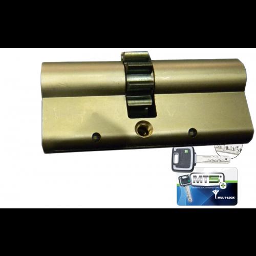 Цилиндровый механизм MUL-T-LOCK MT5+ ключ-ключ шестеренка никель 33x38
