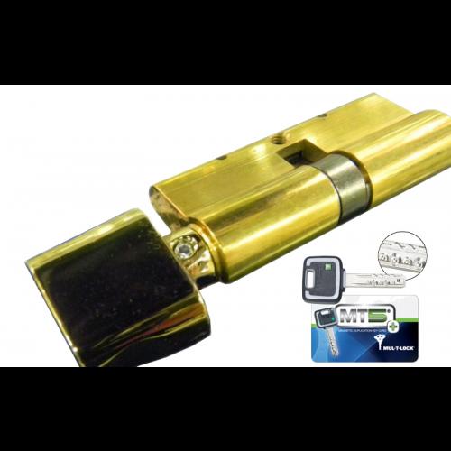Цилиндровый механизм MUL-T-LOCK MT5+ ключ-вертушка латунь 31x31