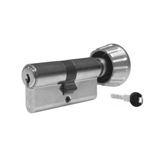 Цилиндровый механизм KABA ЕxperT ключ-вертушка никель 40x40