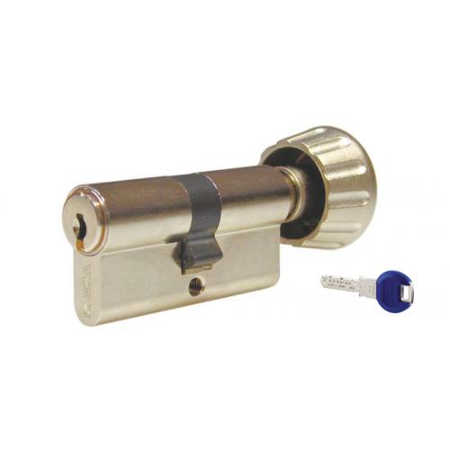 Цилиндровый механизм KABA ЕxperT ключ-вертушка латунь 40x40