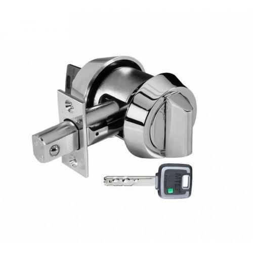 Mul-T-Lock Дед-Болт(полированный хром)