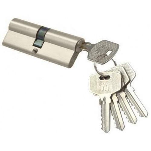 Цилиндровый механизм MSM ключ-ключ никель 30x30