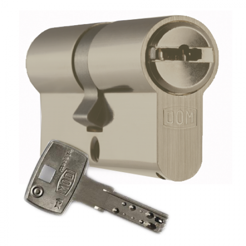 Цилиндровый механизм DOM Saturn ключ-ключ золото 30x40