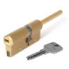 Цилиндровый механизм CISA Astral S ключ-шток латунь 40x30