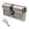 Цилиндровый механизм EVVA 3KS ключ-ключ никель 31x31