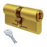 Цилиндровый механизм EVVA 3KS ключ-ключ латунь 36x36
