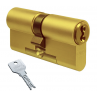 Цилиндровый механизм EVVA 3KS ключ-ключ латунь 31x31