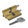 Цилиндровый механизм CISA Astral S ключ-вертушка латунь 30x30