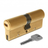 Цилиндровый механизм CISA Astral S ключ-ключ латунь 30x30