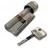 Цилиндровый механизм DOM Diamant ключ-вертушка никель-сатин 37x37
