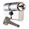 Цилиндровый механизм DOM Saturn ключ-ключ никель-сатин 45x45
