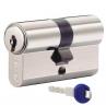 Цилиндровый механизм KABA ExperT ключ-ключ никель 40x40