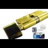 Цилиндровый механизм MUL-T-LOCK MT5+ ключ-вертушка латунь 65x40