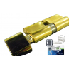 Цилиндровый механизм MUL-T-LOCK MT5+ ключ-вертушка латунь 50x40