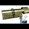Цилиндровый механизм MUL-T-LOCK MT5+ ключ-вертушка шестеренка никель 38x33