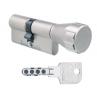 Цилиндровый механизм EVVA MCS ключ-вертушка никель 31x31
