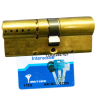 Цилиндровый механизм MUL-T-LOCK Interactive ключ-ключ латунь 33x43