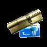 Цилиндровый механизм MUL-T-LOCK Interactive ключ-ключ никель 35x60