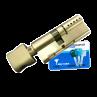 Цилиндровый механизм MUL-T-LOCK Interactive ключ-вертушка никель 65x35