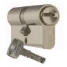 Цилиндровый механизм DOM Saturn ключ-ключ золото 45x45