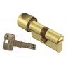 Цилиндровый механизм DOM Saturn ключ-вертушка золото 40x40
